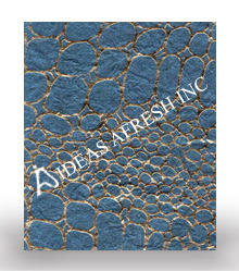Leather Textured Paper with Foil Embossed Paper