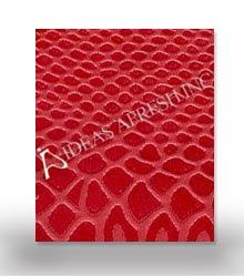 Red Leather Embossed Paper